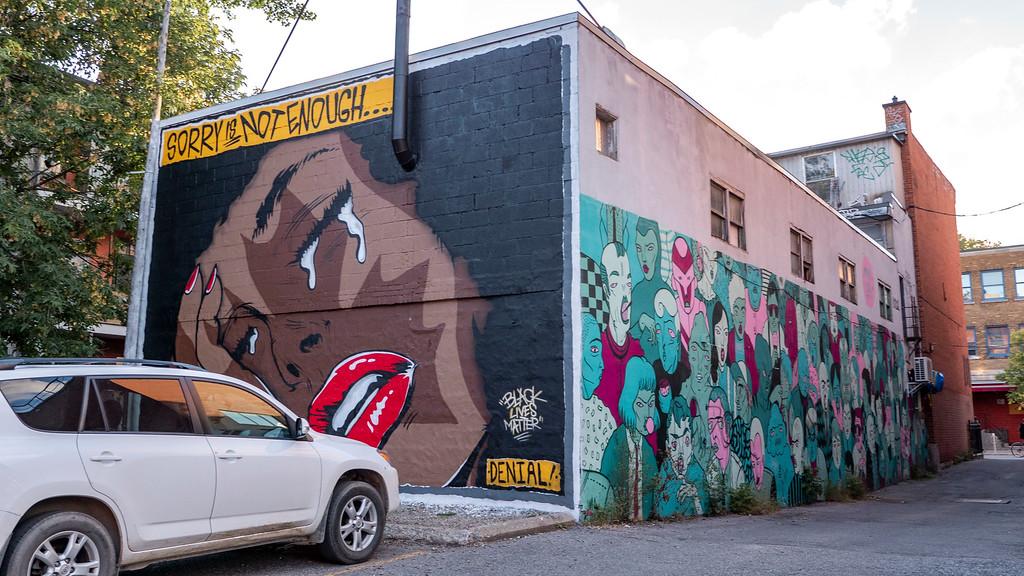 Montreal street art - Murals in Montreal