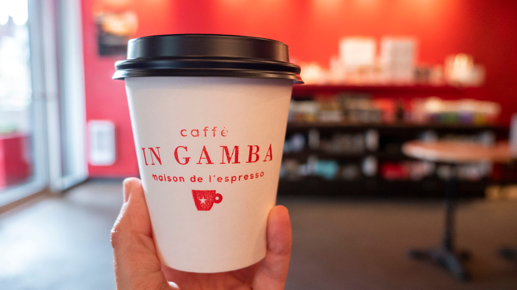 Montreal 3 day itinerary: Caffe in Gamba - Montreal cafe