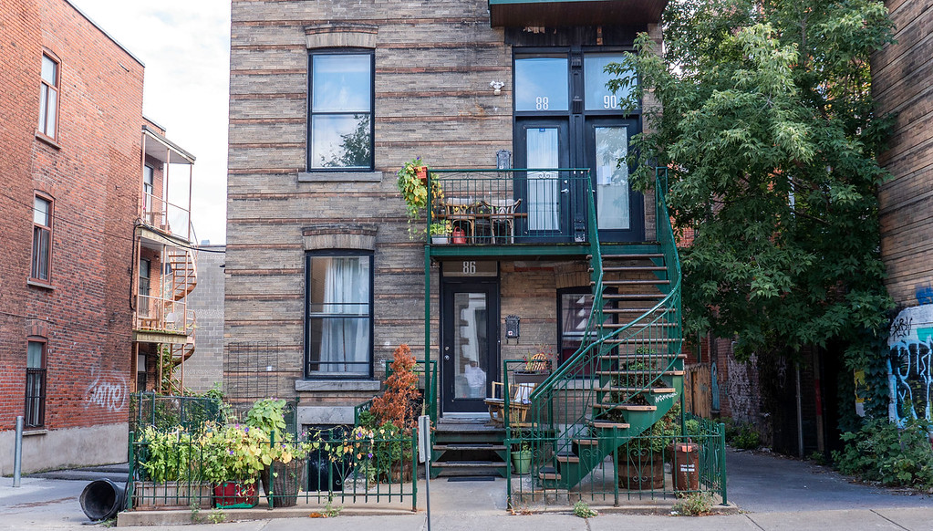 Beautiful homes in Montreal's Mile End