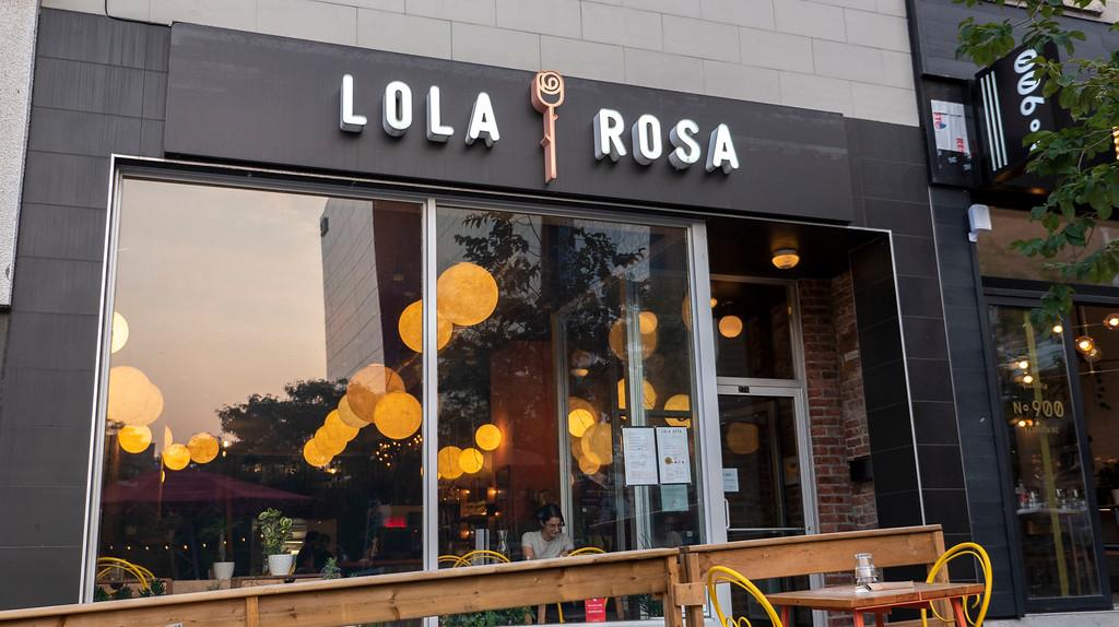 Lola Rosa - vegan Montreal