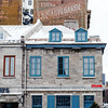 Architecture in at Place Jacques-Cartier in Old Montreal, Quebec, Canada