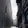 Alley in Old Montreal, Quebec, Canada