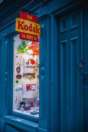 Gift Shop in Old Quebec City