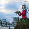 Christmas decoration in Quebec City, Canada