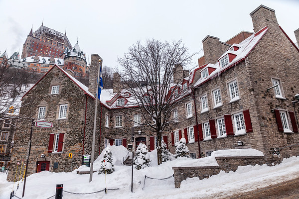 Old Quebec City and Le Château Frontenac