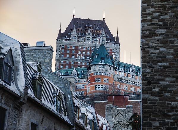 Le Château Frontenac, Quebec City
