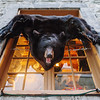 Bear skin in Le Petit-Champlain , Quebec City