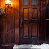 Door in Petit-Champlain District in Old Quebec City
