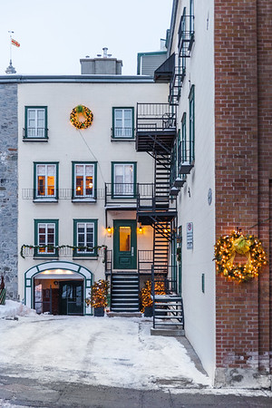 Building in Old Quebec City