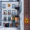 Building in Old Quebec City