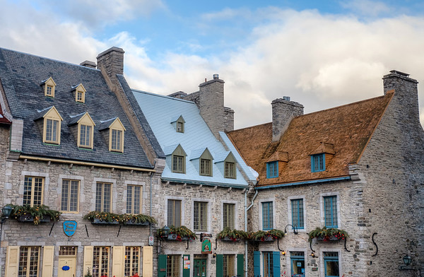 Architecture in Old Quebec City