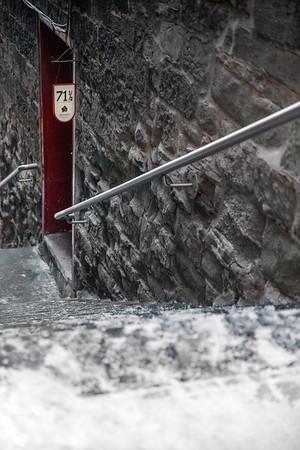 Door in Old Quebec City