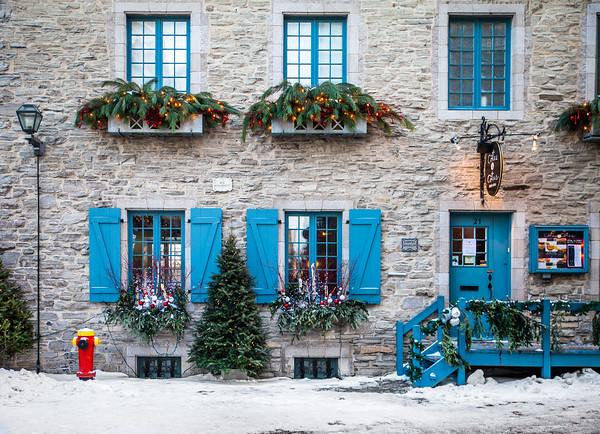 Christmas time in Old Quebec City / Noël dans le Vieux-Québec