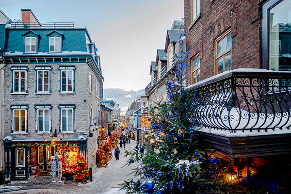 Petit-Champlain street in Old Quebec City