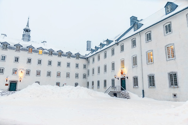 The Seminary of Quebec (Séminaire de Québec) in Quebec City