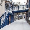Alley in Old Quebec City