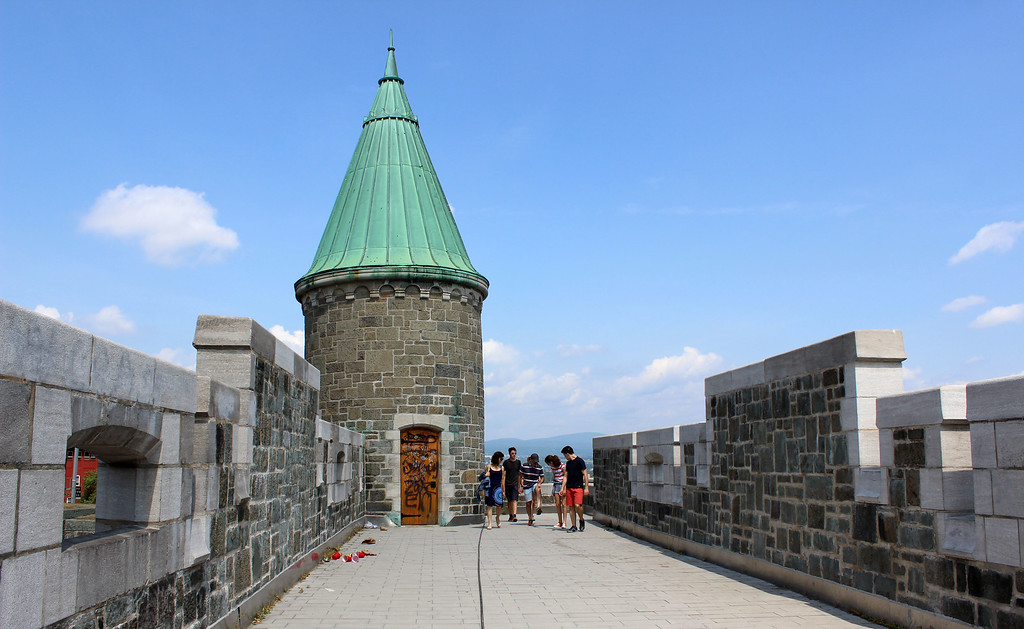 Fortifications of Quebec City: Walking the historic Quebec City ramparts