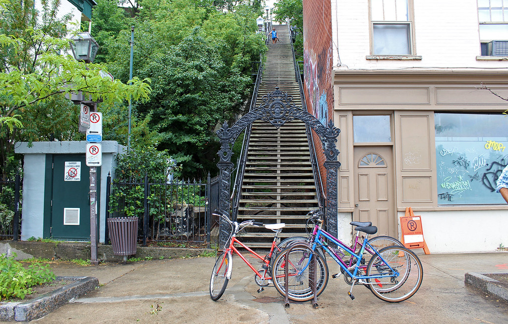 Lépine Stairs in Quebec City