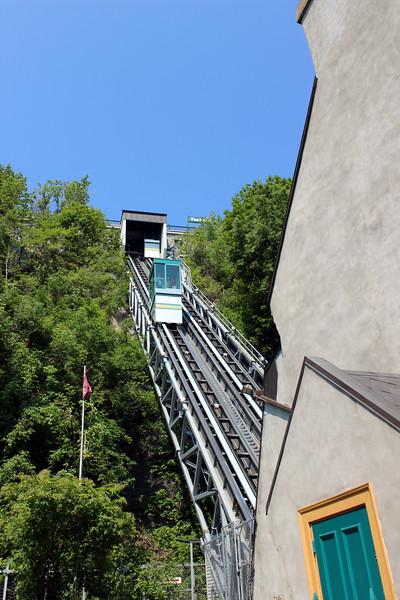Quebec City funicular