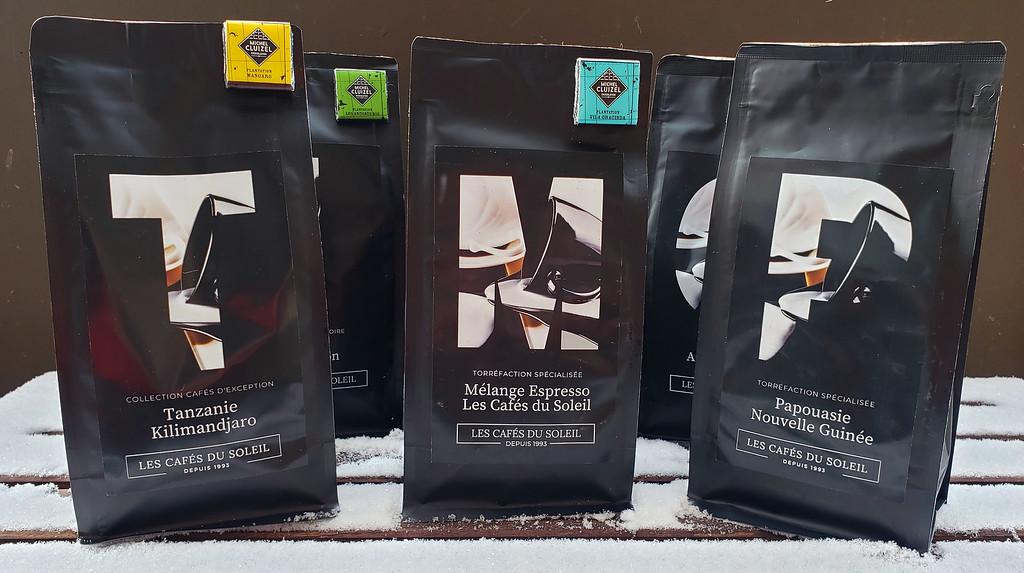 Les Cafes du Soleil coffee beans