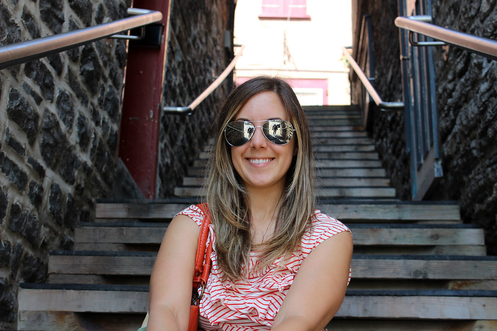 Escalier du Quai-du-roi  in Old Quebec