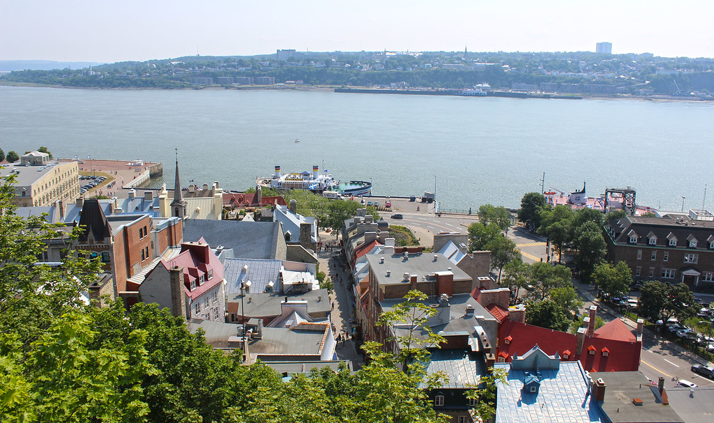 Views from Upper Town, Old Quebec