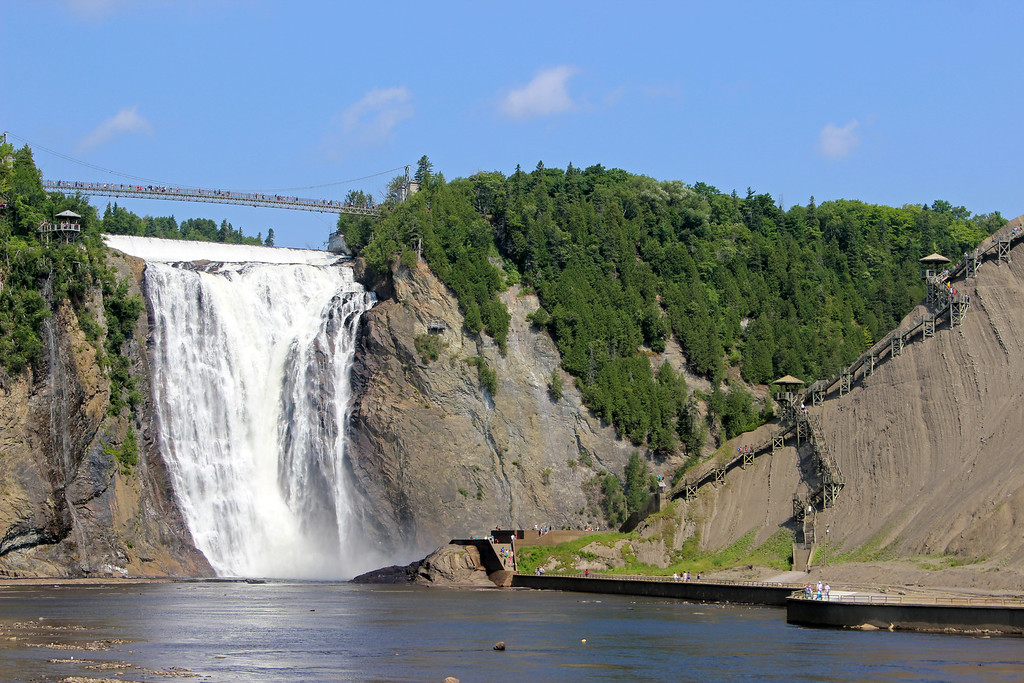 Montmorency Falls Quebec City