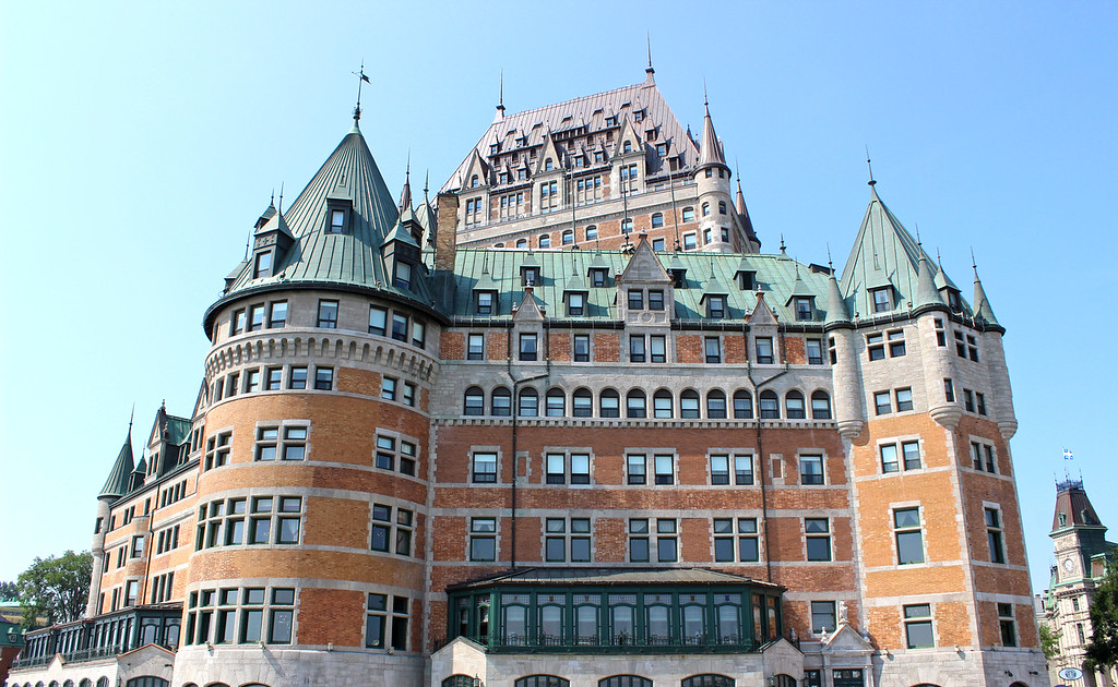 Dufferin Terrace and the Chateau Frontenac
