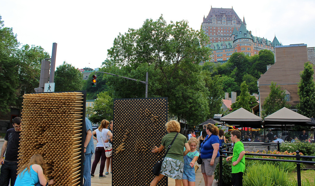 Outdoor festival in Quebec City - Free festival - Passages Insolites - Unusual Passages