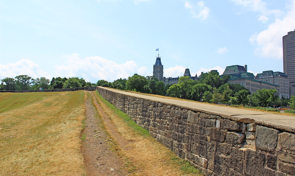Ramparts of Quebec City - the Quebec City wall