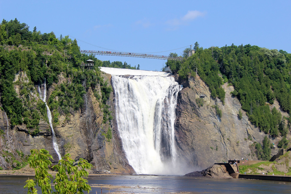 Montmorency Falls, Quebec City. Quebec City 3 day itinerary