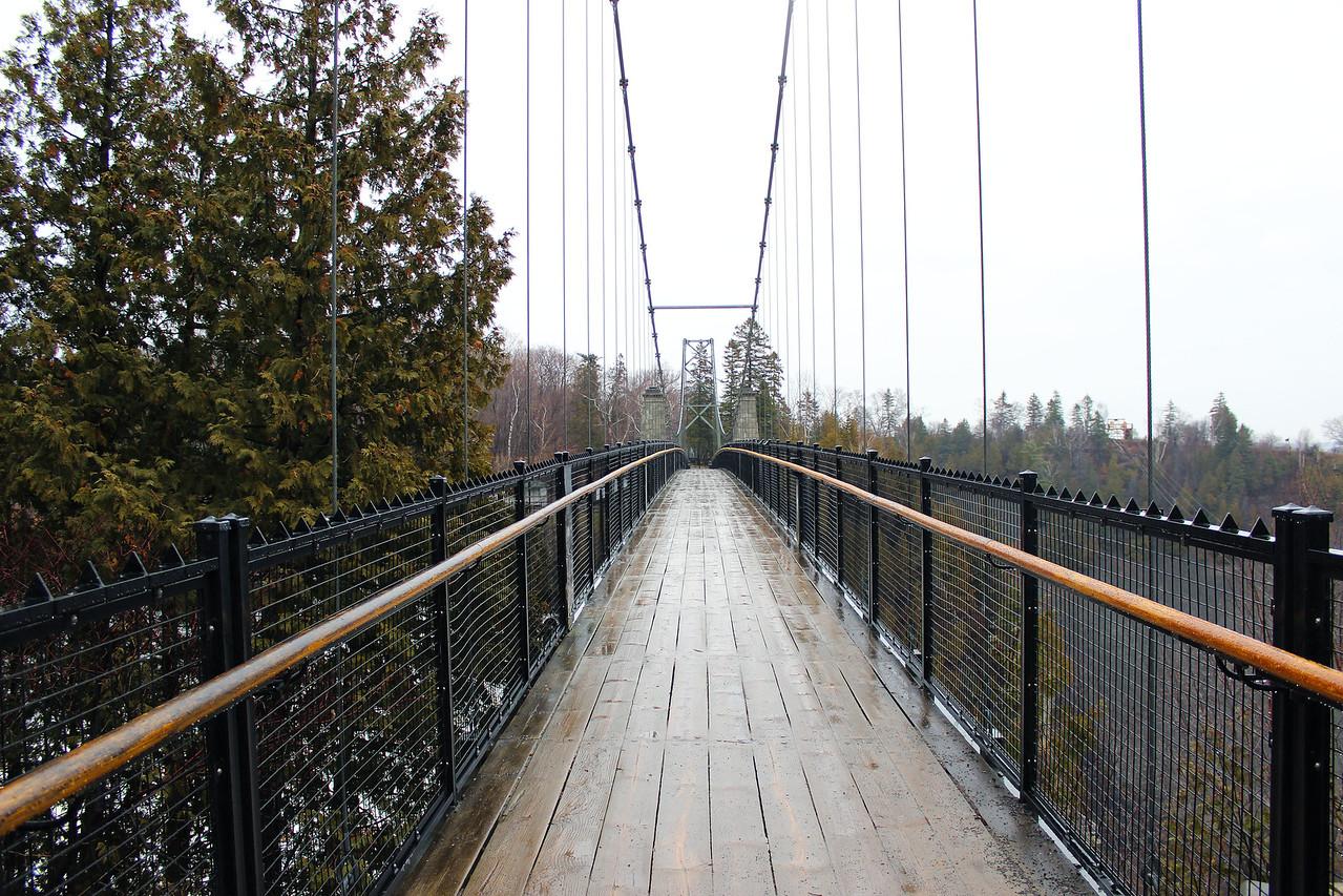 Montmorency Falls - Suspension Bridge