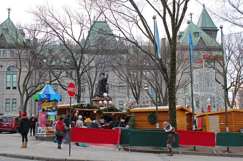 Christmas Market in Old Quebec