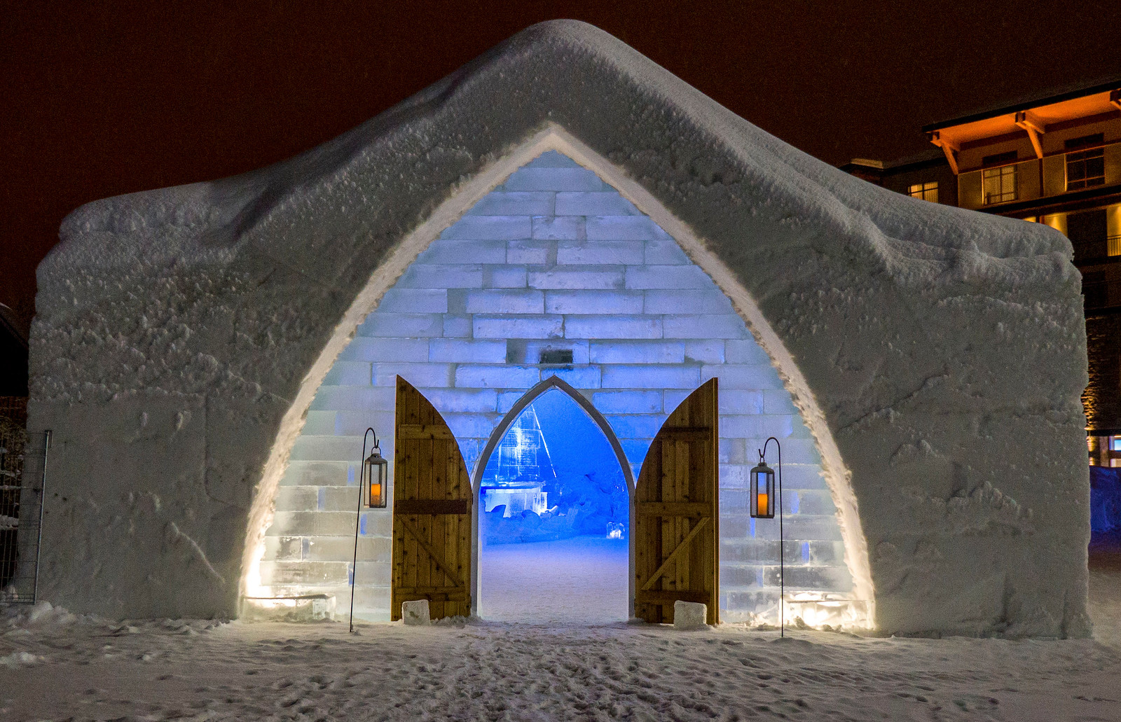 Ice Hotel Quebec: An Insider's Guide to Surviving the Night - Ice Chapel
