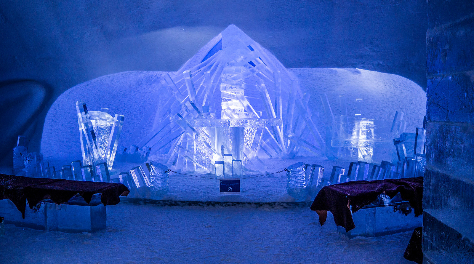 Ice Hotel Quebec: An Insider's Guide to Surviving the Night - Ice wedding chapel