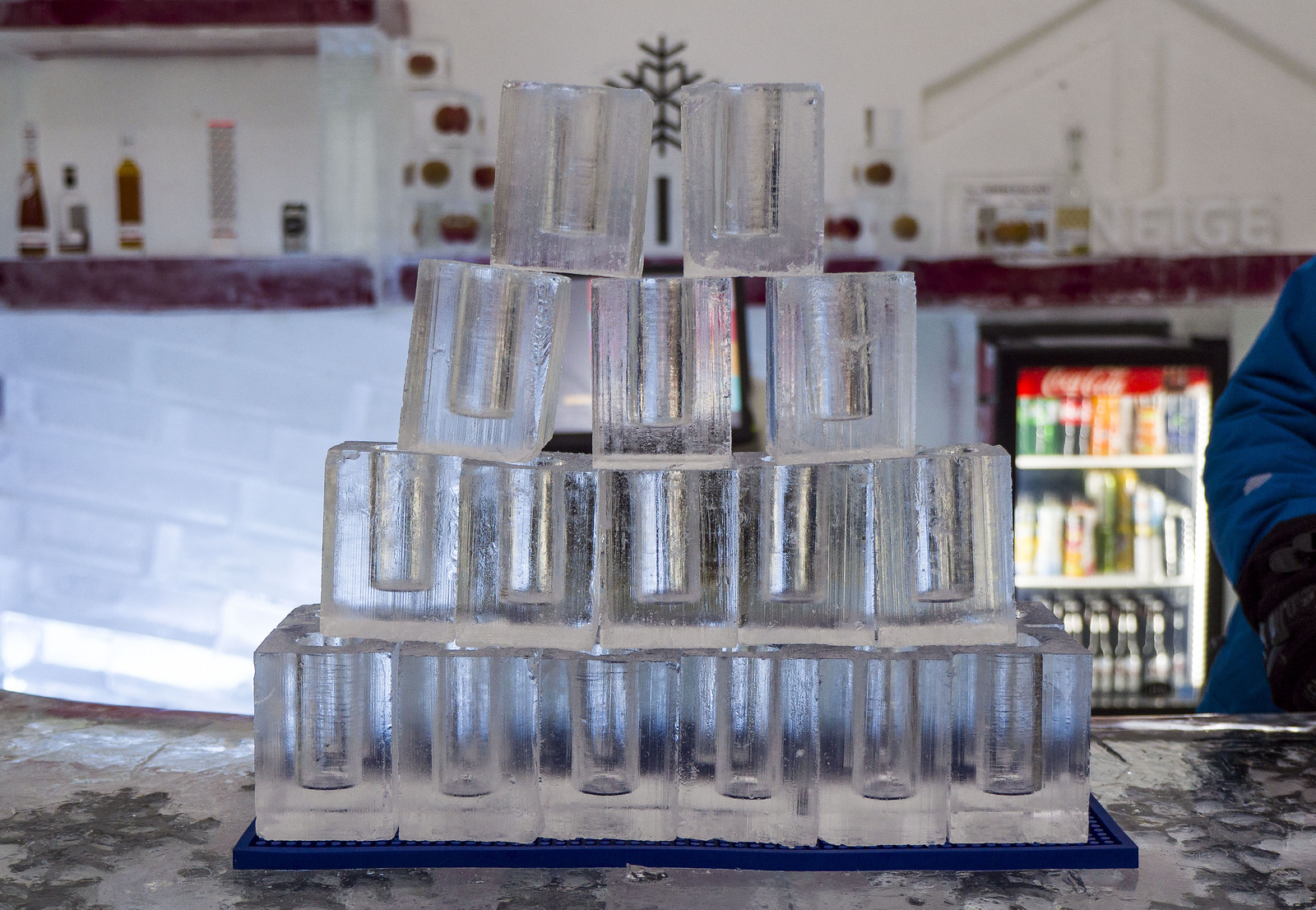 Ice Hotel Quebec: An Insider's Guide to Surviving the Night - glasses made of ice