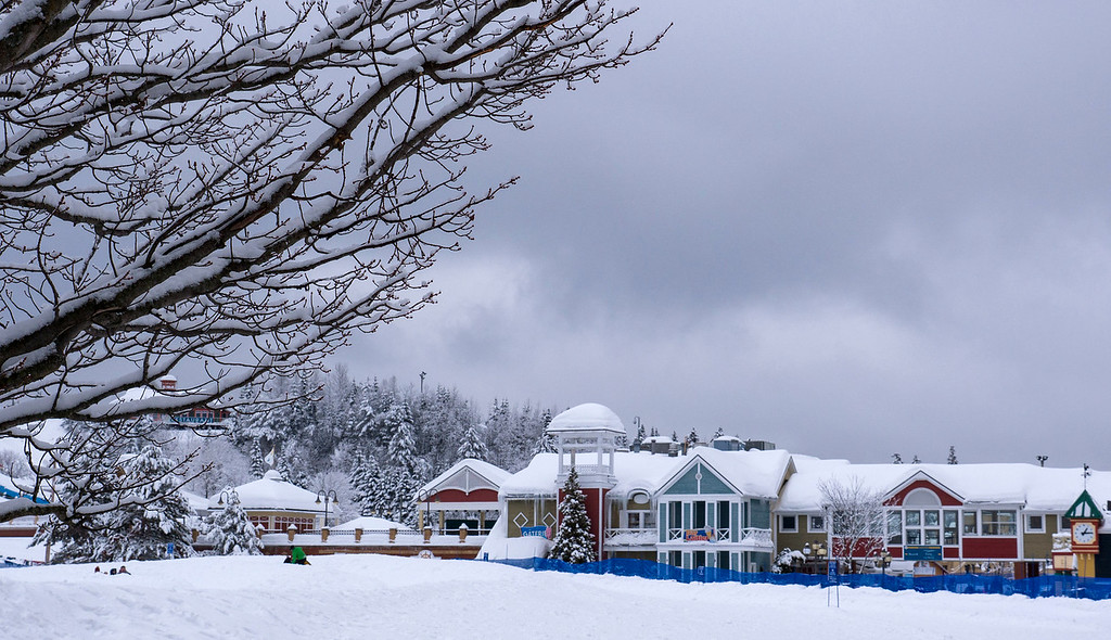 Quebec in Winter: Village Vacances Valcartier