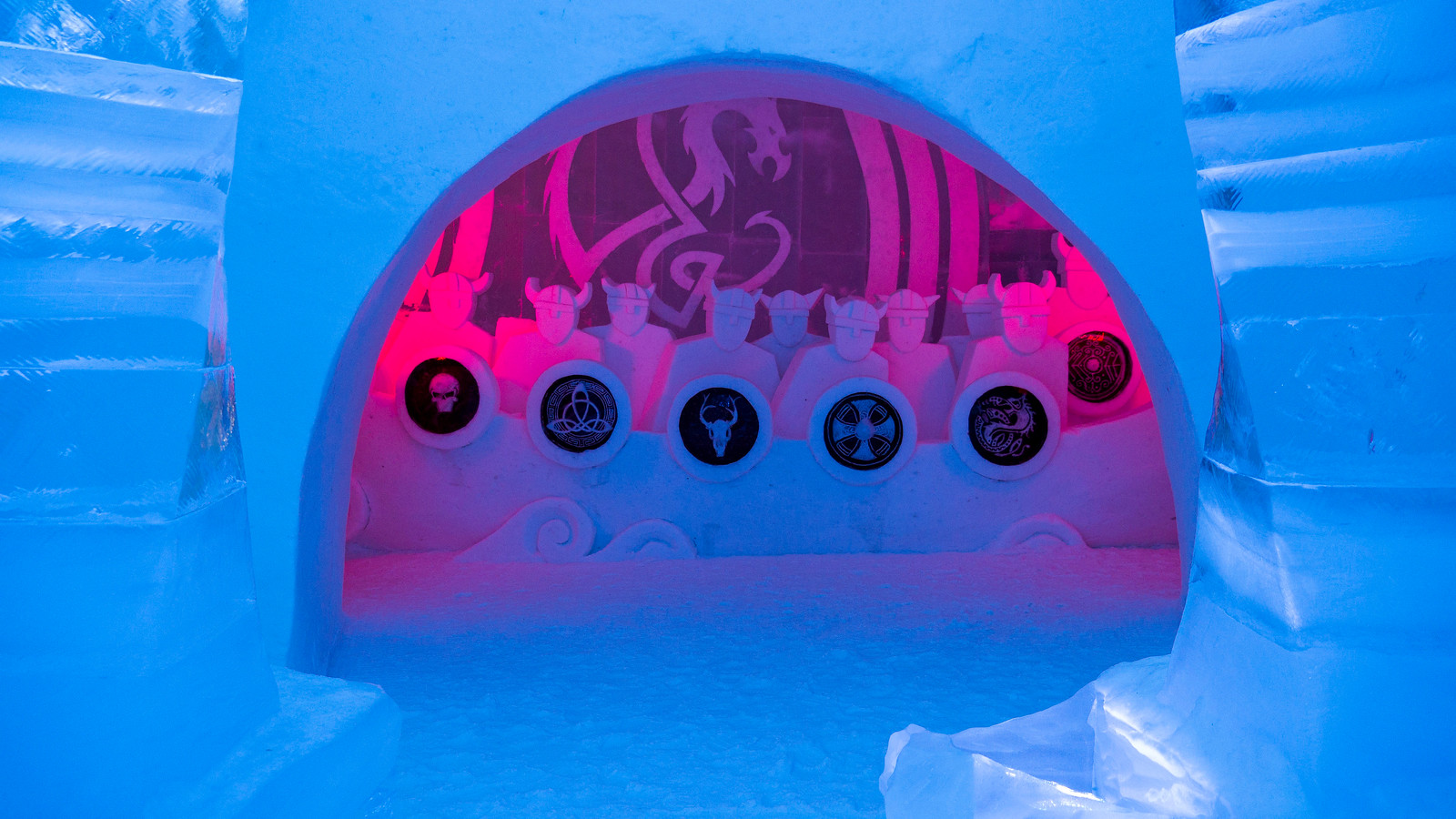 Ice Hotel Quebec: An Insider's Guide to Surviving the Night - Ice slide