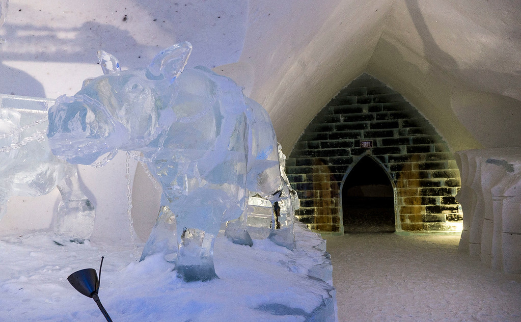 Winter weekend in Quebec City: Hotel de Glace / Ice Hotel