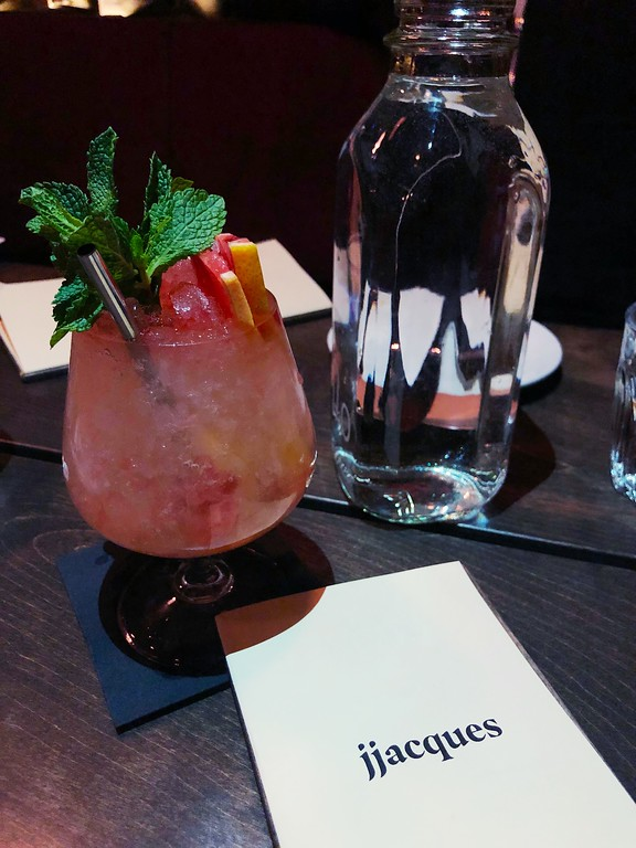 Special cocktail at JJacques in Saint-Roch