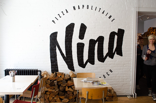 Enjoying an Italian-inspired lunch at Nina Pizza Napolitaine