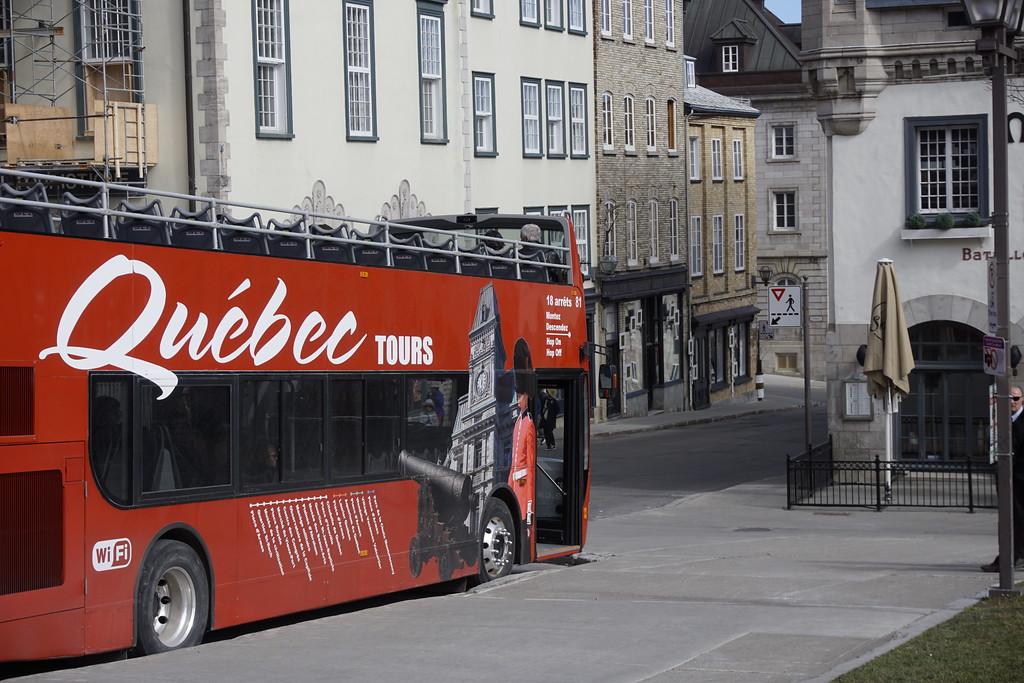 Explore Old Quebec City on the Hop On Hop Off Quebec City bus tour!