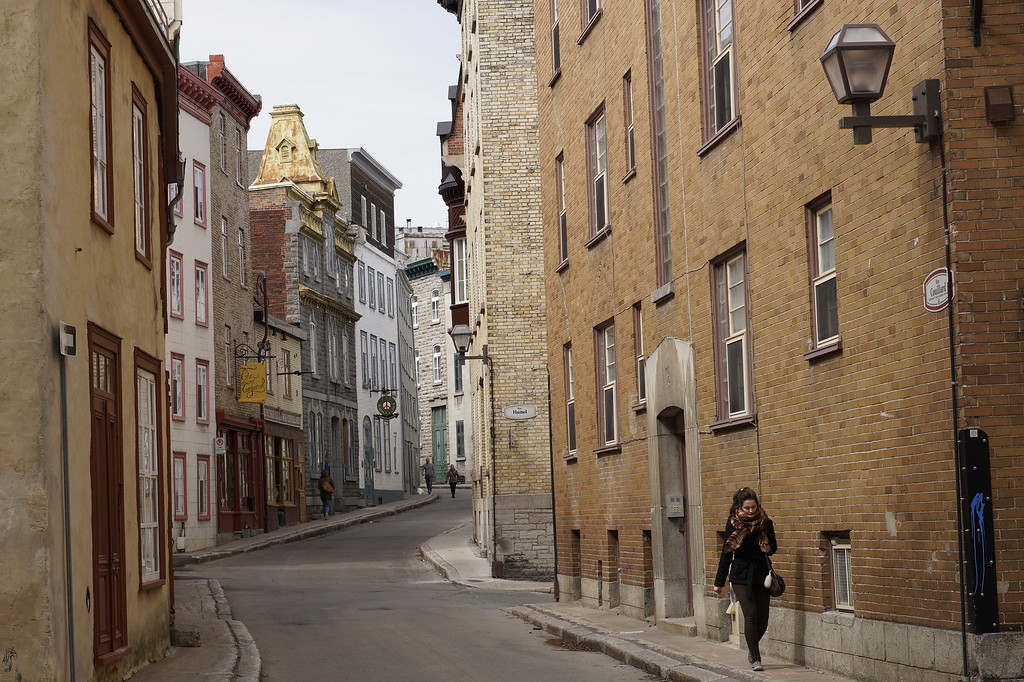 Beginner's Guide to Quebec City: wander down rue Couillard in Old Quebec City!