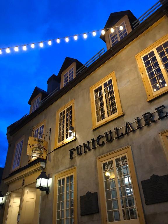 Funiculaire de Quebec
