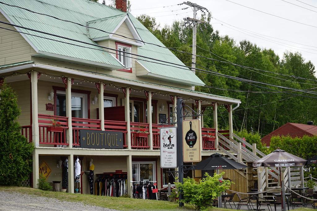 Café du Quai in L'Anse-Saint-Jean, Quebec