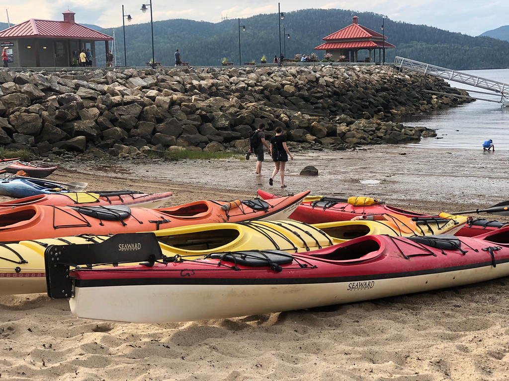 Sea Kayaking in L'Anse-Saint-Jean is a perfect way to relax in Saguenay-Lac-Saint-Jean, Quebec!