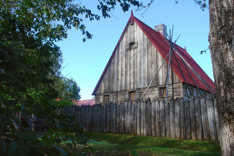 17th Cent Trading Post