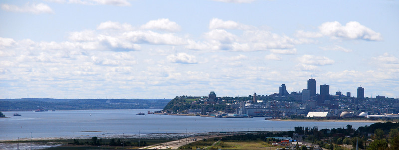Quebec from Montmorency