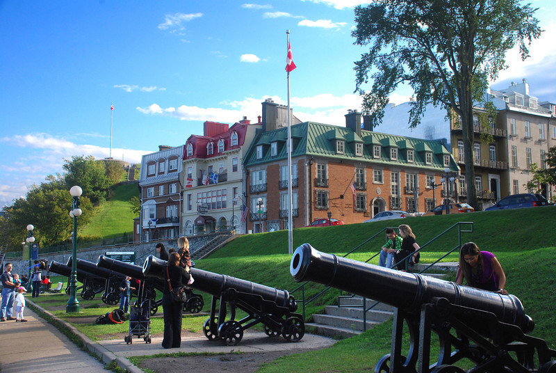 Quebec, near Governors Garden