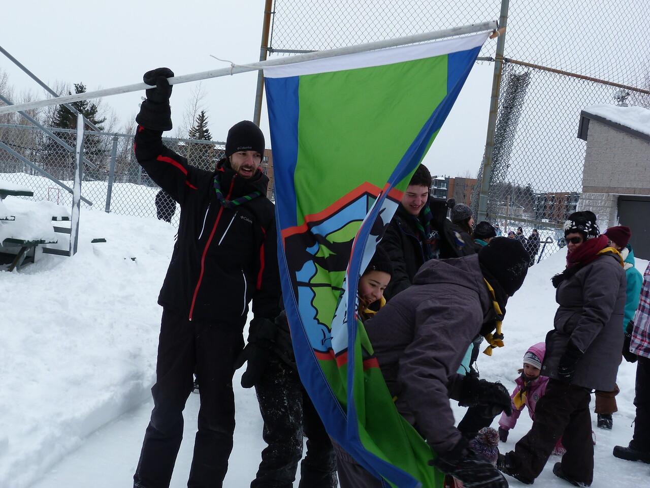 Record du monde foulard scout